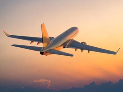 Vliegtuig naar Almeria